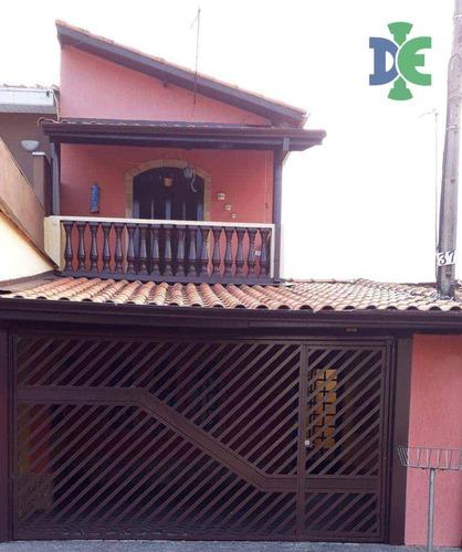 Sobrado Com 2 Dormitórios À Venda, 87 M² Por R$ 260.000,00 - Jardim São Luiz - Jacareí/sp - So0045