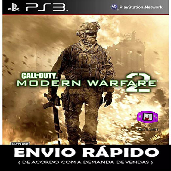Call Of Duty Modern Warfare 2 Ps3 - Jogo Digital