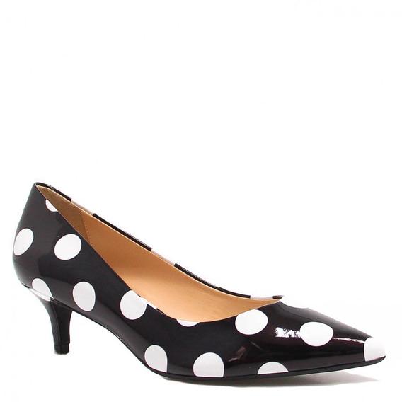 Sapato Feminino Zariff Shoes Scarpin Preto 389001