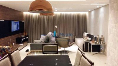 Lindo Apartamento Com 3 Dormitórios À Venda, 114 M² Por R$ 780.000 - Vila Ema - São José Dos Campos/sp - Ap1725