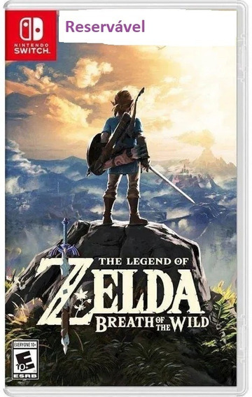 Zelda Botw + Expansion Pass Switch Digital Aluguel 5 Dias.