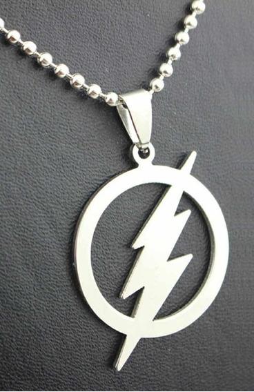 Colar The Flash Herói Dc - Frete Grátis ! ! !