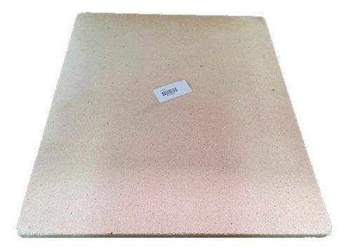 Imagen 1 de 5 de Piedra Refractaria Para Cocinar Pizzas Al Horno 37x33x1,4cm