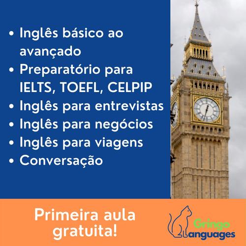 Imagem 1 de 2 de Aulas De Inglês Online Com Professora Nativa