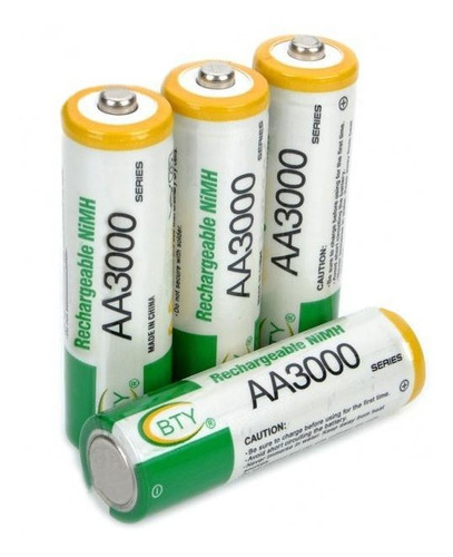 Baterias Recargables Aa Bty