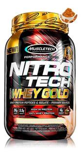 Nitrotech Whey Gold 2.5lbs (1,13kg) - Muscletech - Importado