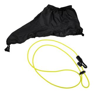 Falda Spray Kayak Cubierta Plana Sprayskirt Cab Y Paddle En