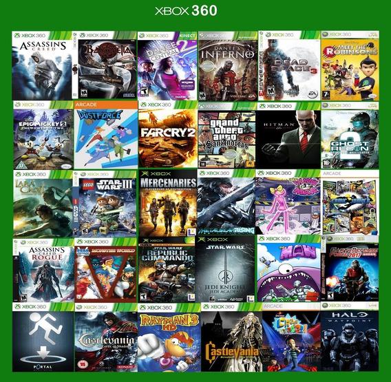 Combo Jogos Midias Digitais Xbox 360