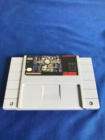 Ultimate Mortal Kombat 3 - Super Nintendo Playtronic - V460