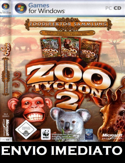 Zoo Tycoon 2 Ultimate Collection Pc - Mídia Digital + Brinde