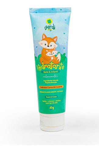Imagem 1 de 10 de Hidratante Natural Relaxante P/ Bebê Verdi Natural ® Vegano