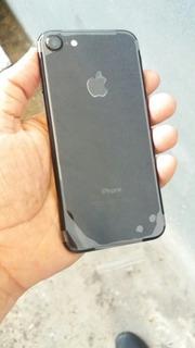 iPhone 7 128gb Jet Black Novo + Carregador E Fone De Ouvido