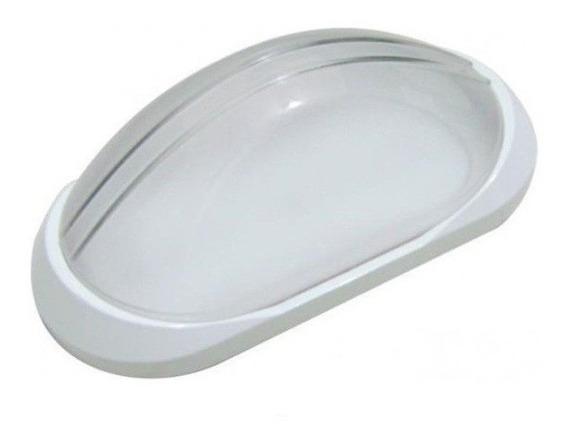 Arandela Tartaruga Externa Plastica Qualidade Branca Ac189