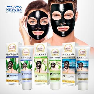 1 Mascarilla Negra Black Mask Puntos Negros Y Espinillas