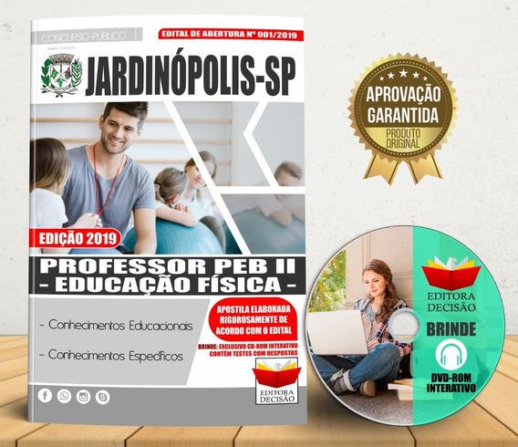 Apostila Jardinópolis 2019 - Professor Peb 2 Educação Física