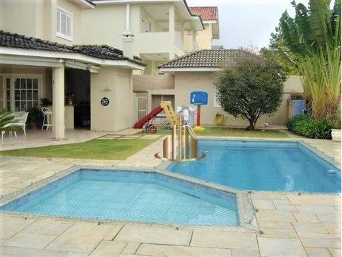 Casa Com 4 Suítes À Venda, 500 M² Por R$ 3.700.000 - Alphaville 11 - Santana De Parnaíba/sp - Ca2810