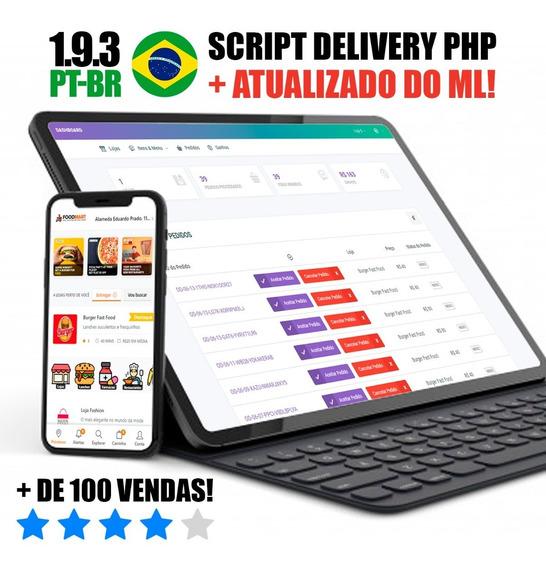 Script Php Delivery Aplicativo Comida Tipo Ifood Portugues