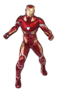 Muñeco Iron Man Gigante 50 Cm Avengers Original Colección
