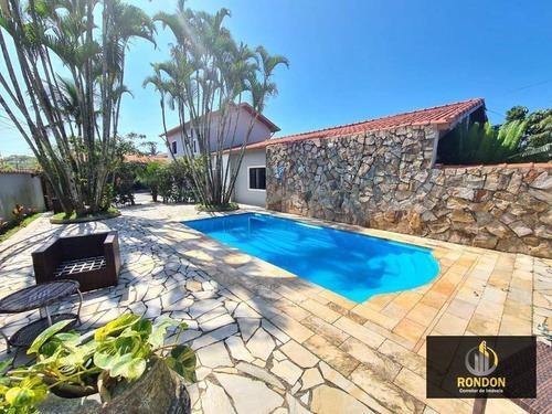 Casa Com 4 Dormitórios À Venda, 360 M² Por R$ 980.000,00 - Cibratel Ii - Itanhaém/sp - Ca1420
