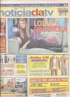 Jornal Noticia: Fernanda Souza / Daniel Dantas / Marco Ricca