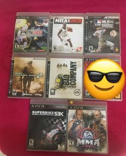 Juegos De Ps3 Playstation 3 Usados Originales (5 Us)