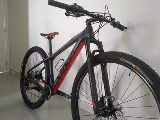 Bicicleta Caloi Carbon Racing 2018 Tam 17 M Aro 29 Carbono