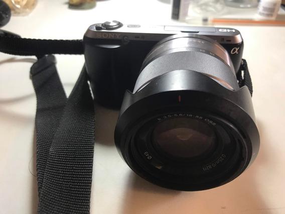 Câmera Digital Sony Alpha Nex C3 16,2mp - Leia Descrição
