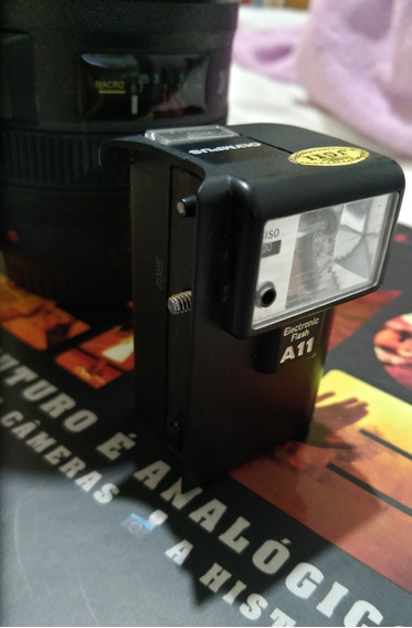 Flash Para Cameras A11 Olympus