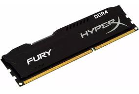 Memória Hyperx Fury 8gb 2666mhz Ddr4 Black Hx426c16fb2/8 P