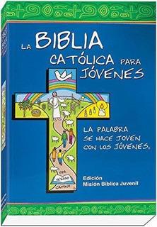 Libro Biblia Católica Jóvenes / Del Joven Tamaño Grande
