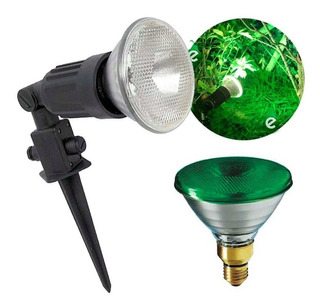 Luces Para Iluminar Plantas Arboles Arbustos Unigarden Verde