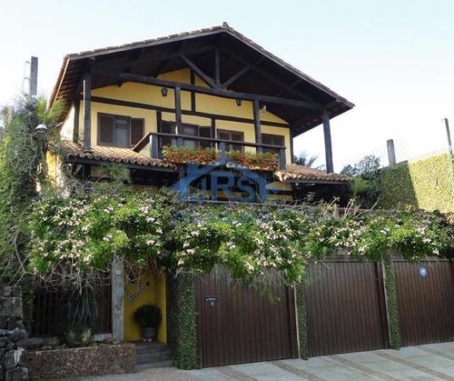Lindo Sobrado Com 3 Dormitórios À Venda, 508 M² Por R$ 1.450.000 - Jardim Parnaíba - Santana De Parnaíba/sp - So1064