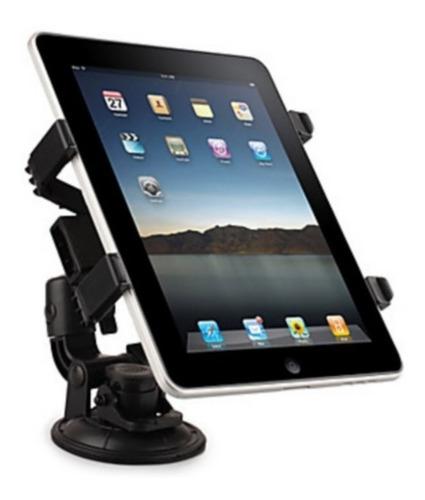 Imagem 1 de 2 de Suporte Veicular Painel Carro Vidro Tablet iPad Até 10 Pole