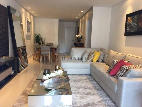 Apartamento Com 3 Dormitórios À Venda, 130 M² Por R$ 1.299.345,00 - Água Verde - Curitiba/pr - Ap2647