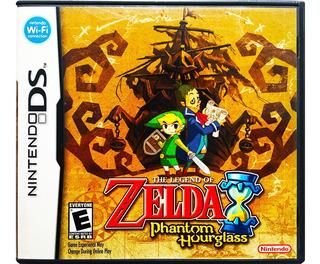 Zelda Phantom Hourglass En Español - Nintendo Ds 2ds & 3ds