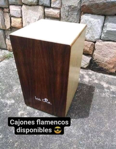 Cajón Flamenco Gama Pro // 155us//