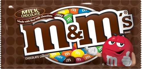 Imagen 1 de 9 de Myms Chocolate De Leche 47.9 G