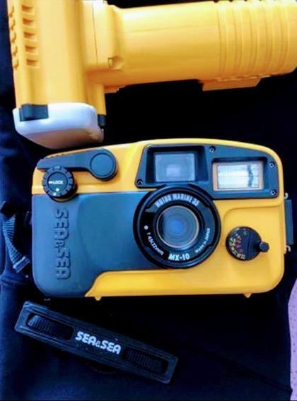 Câmera Fotográfica Sea & Sea Mx-10 35mm