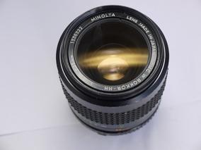 Lente Minolta W. Rokkor-hh Mc 35mm 1.8 Md Sony Micro 4 3