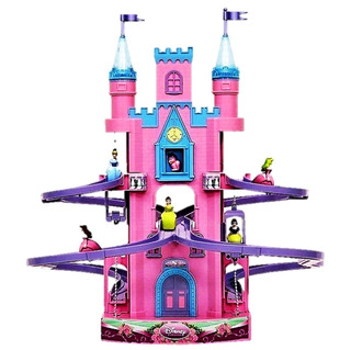 Castillo Magico Disney Princesas Con Musica Y Luz Original