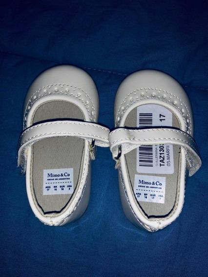 Nuevos Zapatos 17 Marca Mimo Para Nena.