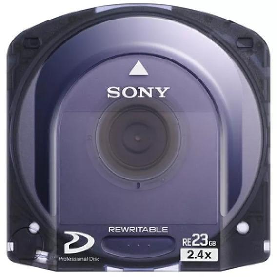 Xdcam 5 Unid. Novas Midia 23gb Pfd-23a Pfd23 Sony Original