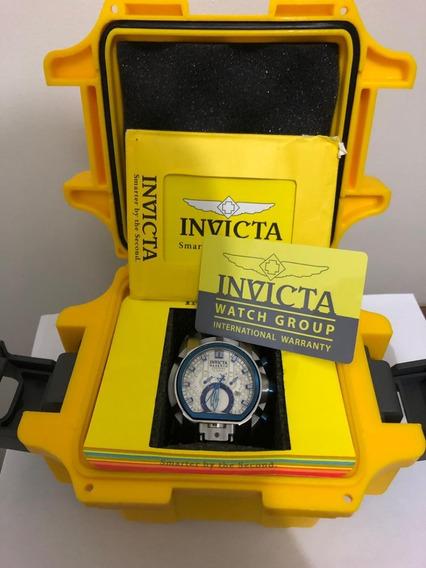Relógio Invicta Bolt Zeus Prata Original