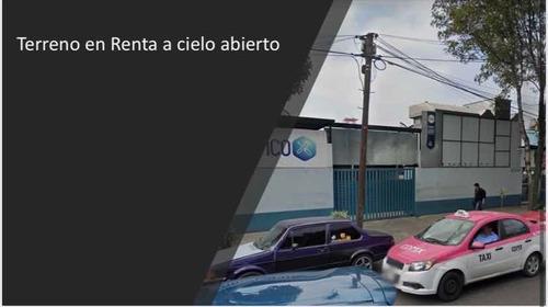Imagen 1 de 3 de Terreno En Renta A Cielo Abierto En Azcapotzalco