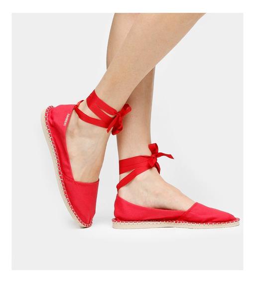 Sapatilha Alpargatas Havaianas Slim - Bailarina Vermelho