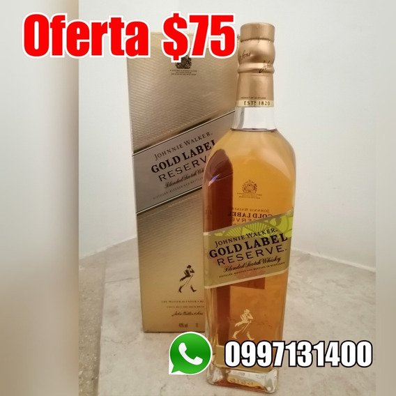 Johnnie Gold 1 Litro Whisky Guayaquil