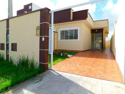 Casa Nova No Jardim Ribamar Na Cidade Praiana De Peruíbe.