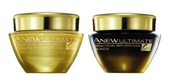 Crema Facial Anew Ultimate 7s Día Y Noche Avon 50g