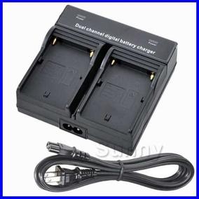 Carregador Duplo De Bateria Sony Hd1000 Pd170 Mc1500 Mc2000