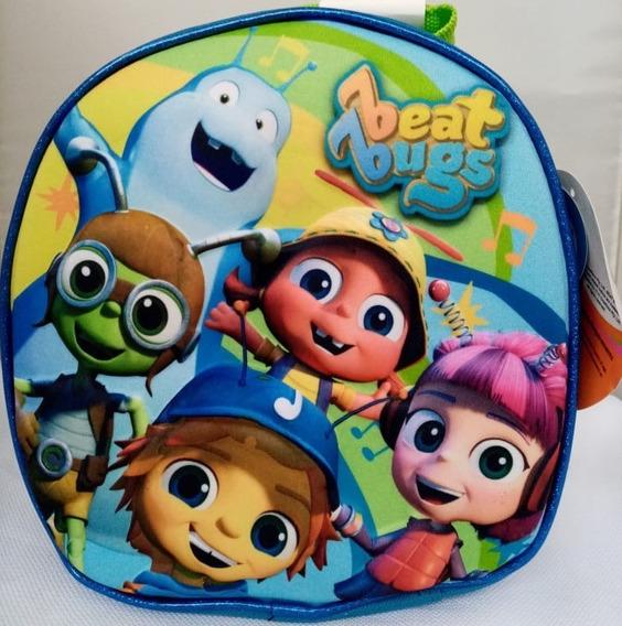 Mochila De Lunch Para Niño Y Niña De Beat Bugs